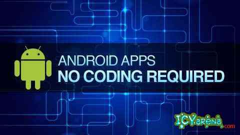 Build your first Android app without any coding !