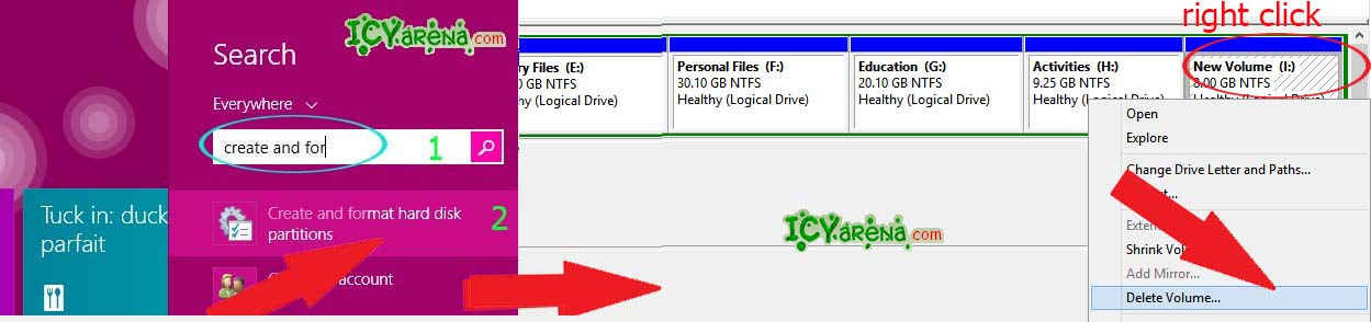 How to join two hard disk drive without any software
