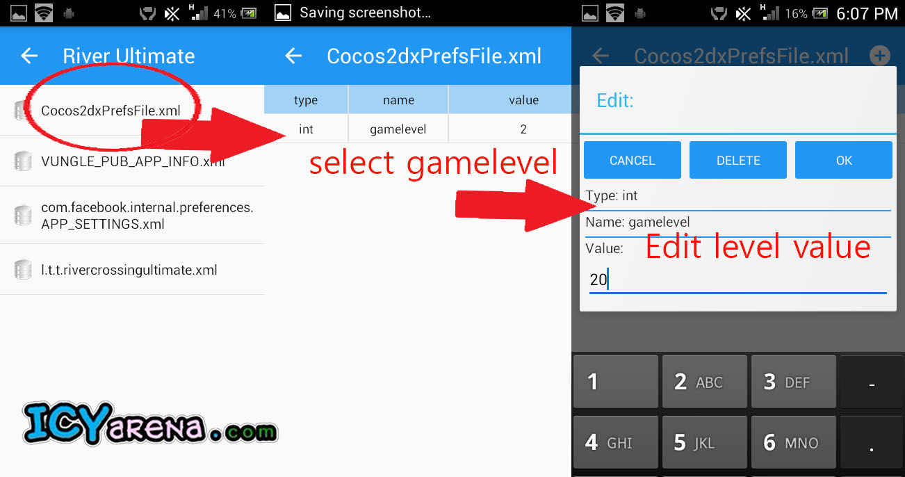 How to modify android apps or games data - 4 Steps